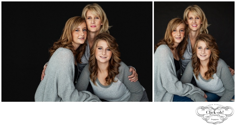 mother and daughter photo shoot