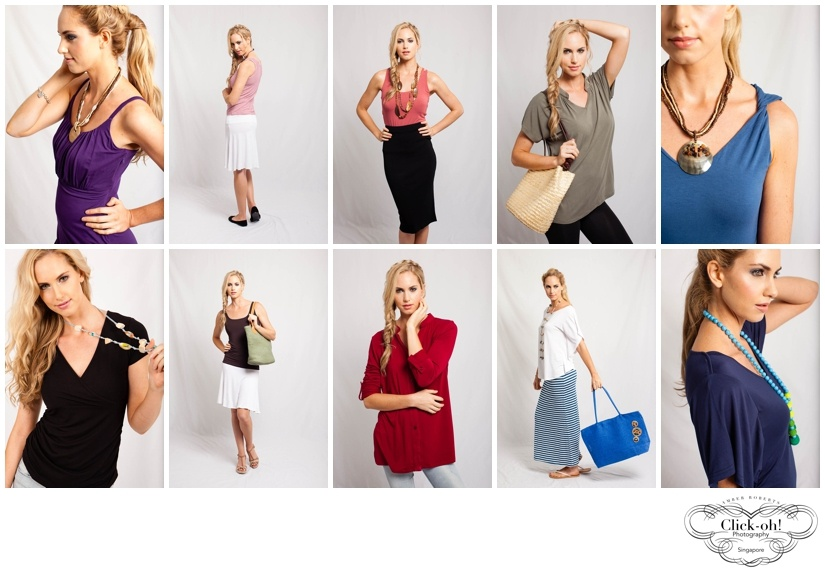 selection of clothing made by Zhai eco clothing