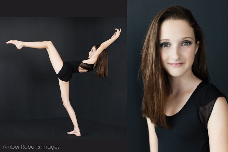 girl in modern dance pose