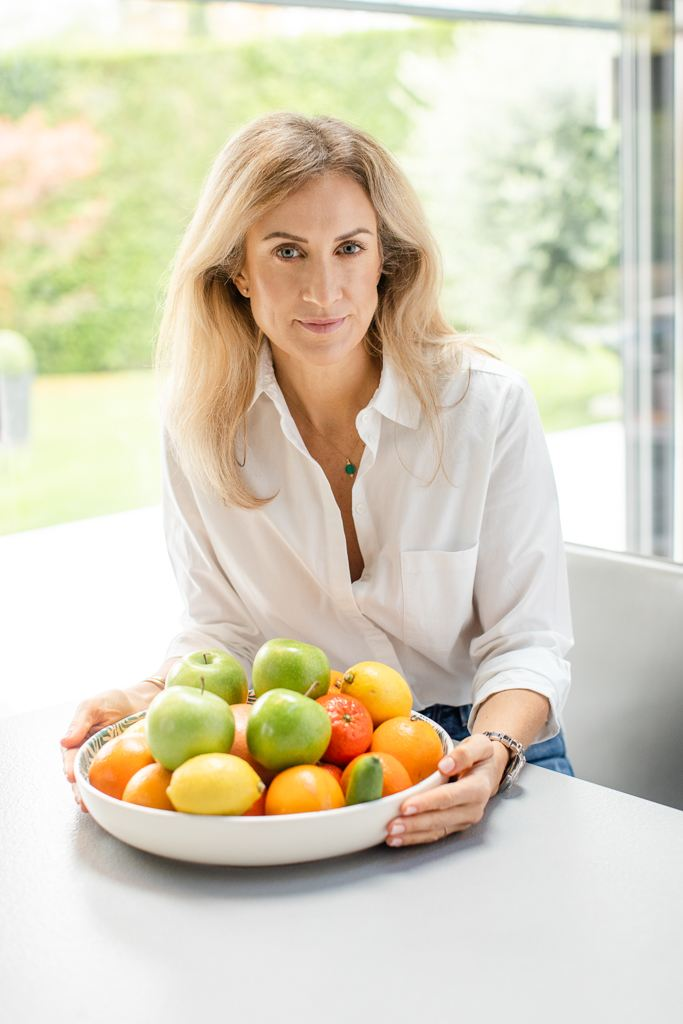Personal branding photo of nutritionist