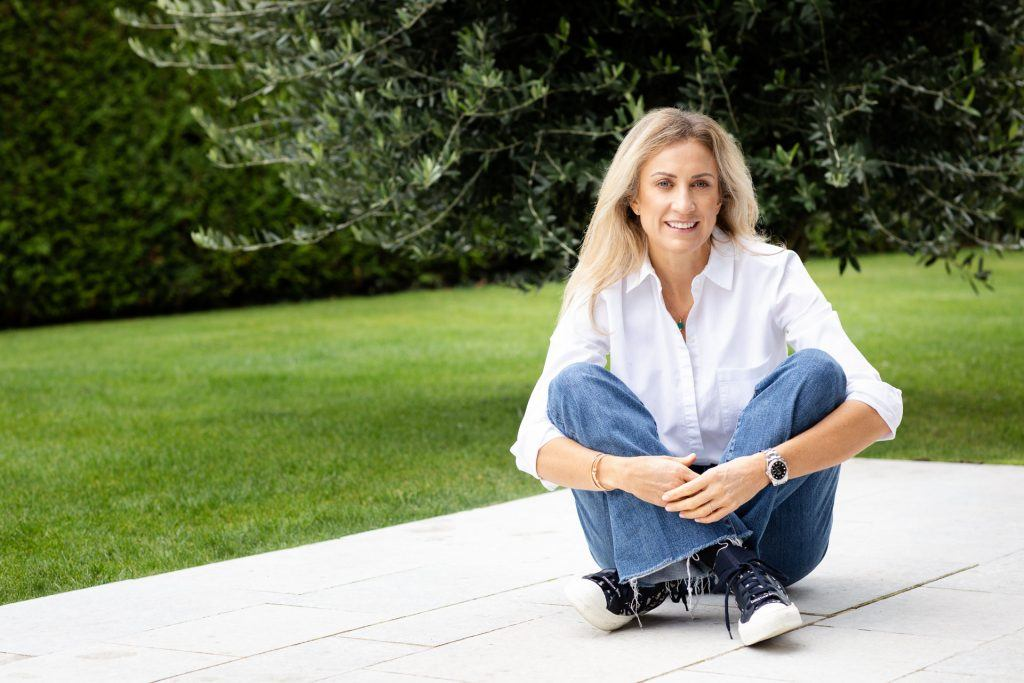portrait of nutritionist Delphine Martin during her personal branding photo session
